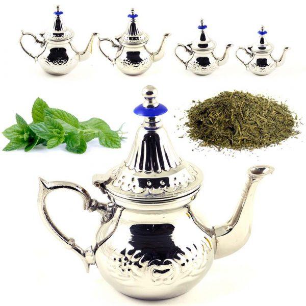 Teapot Arabic - 4 Sizes - Moroccan Teapot - NEW MODEL