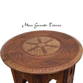 Small Table of Wood From Indian (Detachable) - Various Sizes