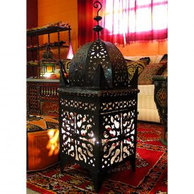 Iron Lamp - Openwork Forge - Arabic Design