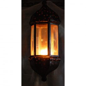 Apply for Iron and Glass Candle