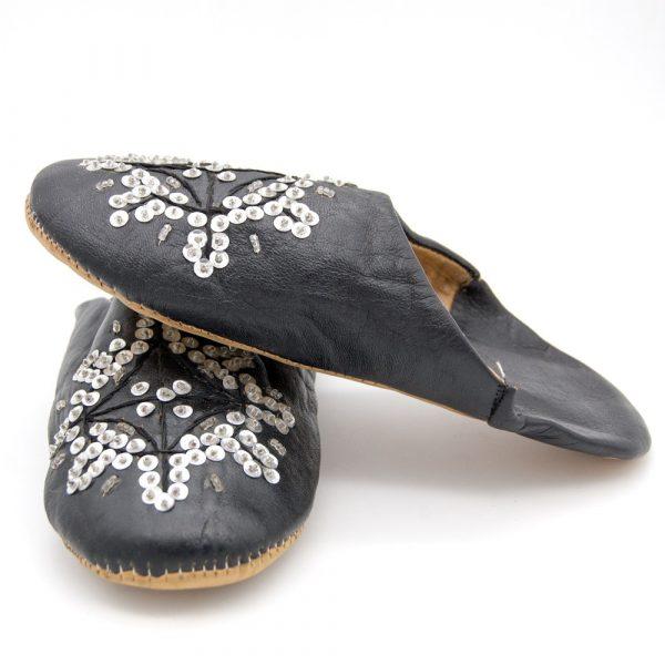Sequin Slippers - House Slippers - Beit Model