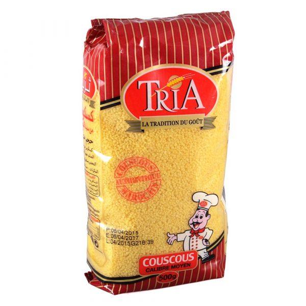 Cous Cous TRIA 1000 gr- wheat semolina - Cous Cous - Kus Kus