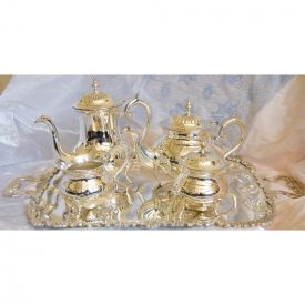 Silver Tea Set - Nickel - High Quality - NEW