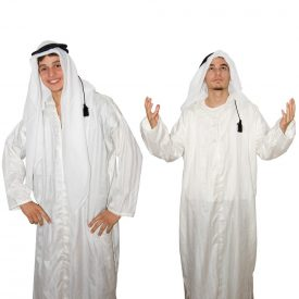 Saudi Arab scarf with Aro - Bedouin - Cotton - NEW
