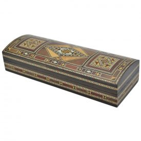 Pencil Box Baul Craftsman Velvet - Lux Finish