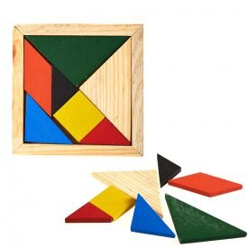 Eastern Tangram Hexagonal - Creating Figures - Puzzle - Ingenio