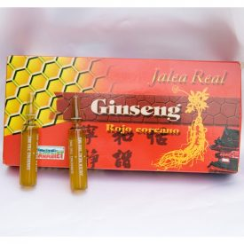 Pure Royal Jelly with Ginseng Red Vitamna C - 20 Ampoules