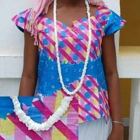 African Shell Necklace - Ethnic Design - Craftsman - Model 1