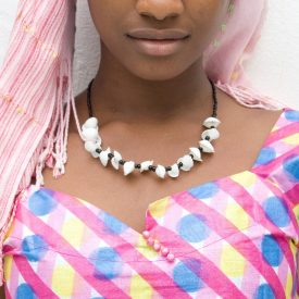 African Shell Necklace - Ethnic Design - Craftsman - Model 3
