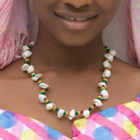 African Shell Necklace - Ethnic Design - Craftsman - Model 6