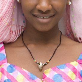 African Shell Necklace - Ethnic Design - Craftsman - Model 7