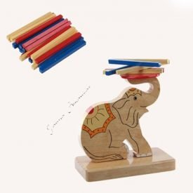 Elephant clever games - Torre Sticks Multicolor - 14 cm