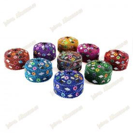 Bright Round Box - Pill Box - Various Colors