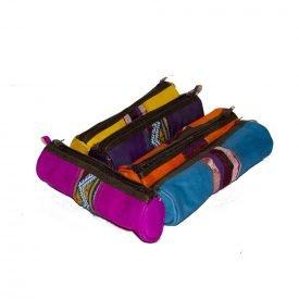 Leather Pen - Tapiz- Various Colors - Zip - 23 cm