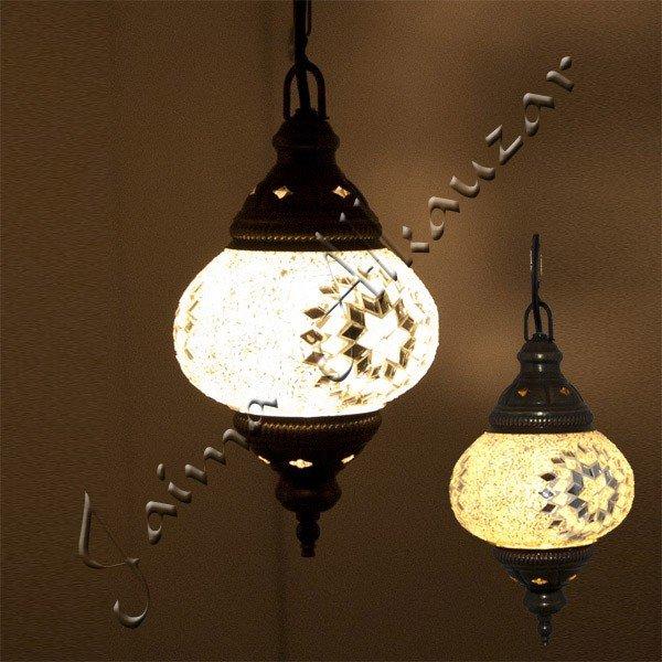 Turkish Lamp - Murano Glass - Mosaic - Great Quality - nº 3 - 17 cm