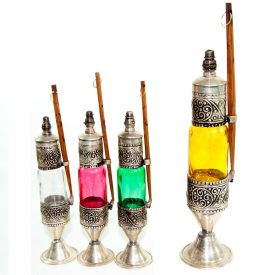Glass Container and Alpaca Eye Drops - Wood Stick (Kujul)