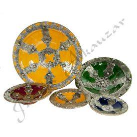 Fatima Hand Ceramic Plate - Hand Craft - 5 Sizes