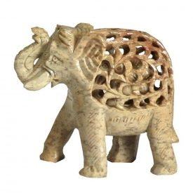 Onyx Elephant Draft - Artisan - 5 cm - Lucky