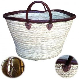 Palmetto Basket - Handles and Leather Finishing - Craftsman - 3