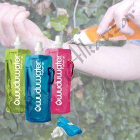 Wuduu Bottle - Portable - Flexible - 480 ml - Vari