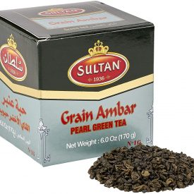 Green Tea - Sultan Al Ambar - Supreme Quality - Extra Grain - 200 gr