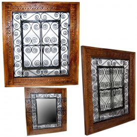 Wood window with Forge - Doors - Several models and sizes