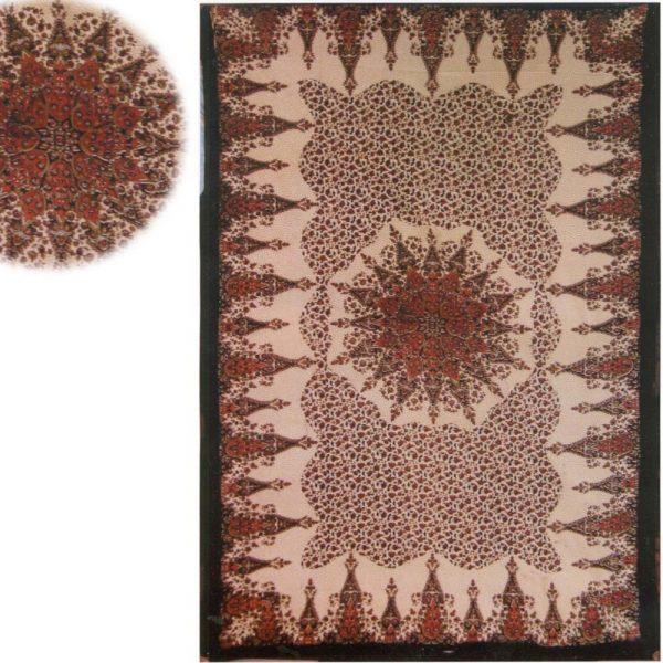 India-Cotton -Start Floral -Artisan-140 x 210 cm