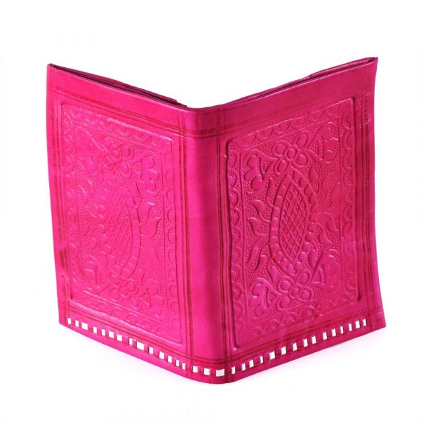 Leather purse Rectangular - Leather Engraving - Various Colors