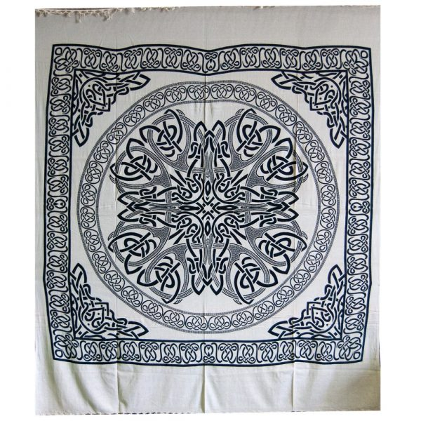 India-Sphere Cotton Fabric Geometric-Artisan-210 x 240 cm