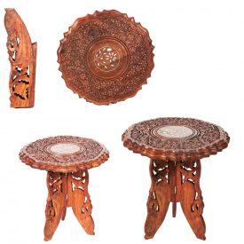 India Wooden Table Legs - 2 Sizes - Detachable
