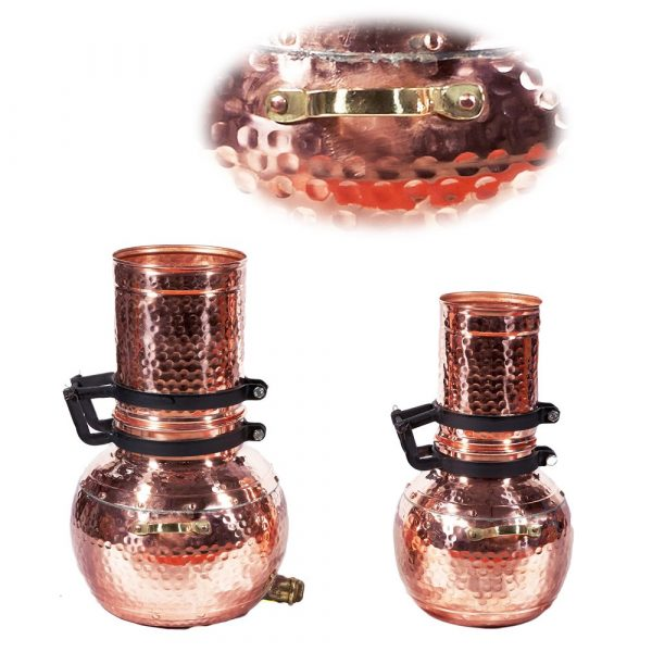 Column Copper Alembic-Craftsman-Distillation Essences and Liquor