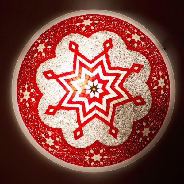 Ceiling Apply or Turkish - Murano Glass - Mosaic Arabic - 50 cm