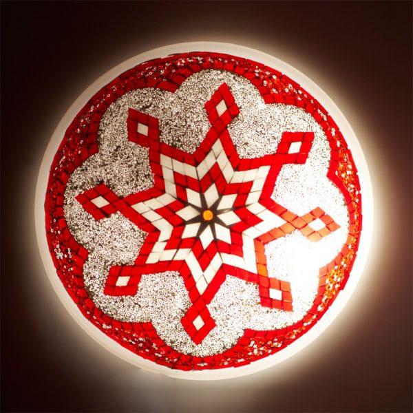 Ceiling Apply or Turkish - Murano Glass - Mosaic Arabic - 30 cm