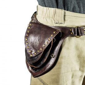 Artisan Triangle Waist - 100% Leather - 3 pockets