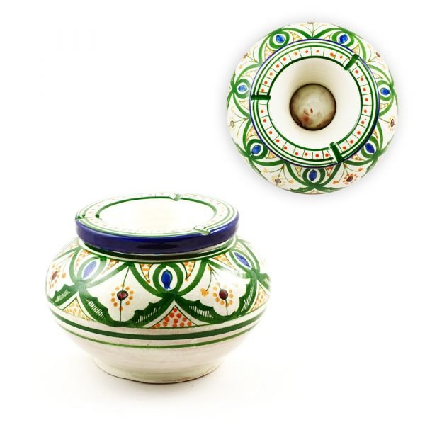 Giant Water Ashtray - Ceramic Glazed - Various Colors-15cm