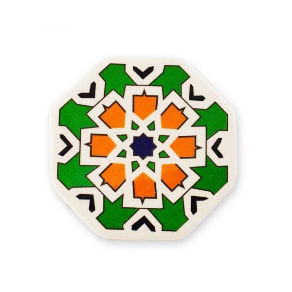 Arabic Tile Magnet Hexagonal - Ideal Refrigerator - 6 cm