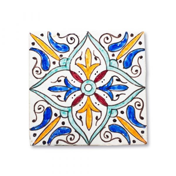 Andalusian Tile Mini - 14,5 cm - Various Designs - Model 2