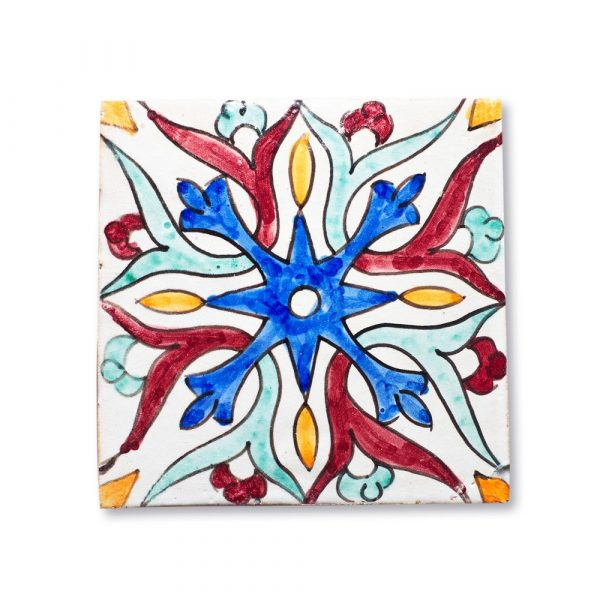 Andalusian Tile Mini - 14,5 cm - Various Designs - Model 3