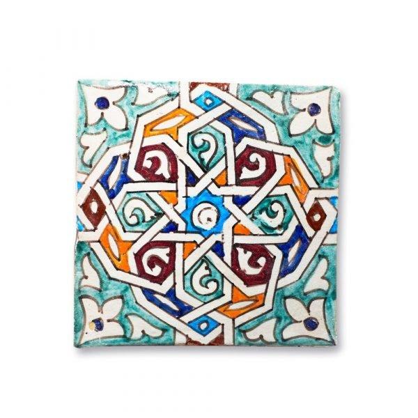 Andalusian Tile Mini - 14,5 cm - Various Designs - Model 8