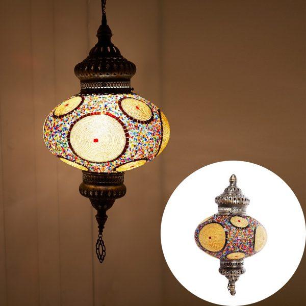 Turkish Lamps - Murano Glass - Mosaic - 60 cm