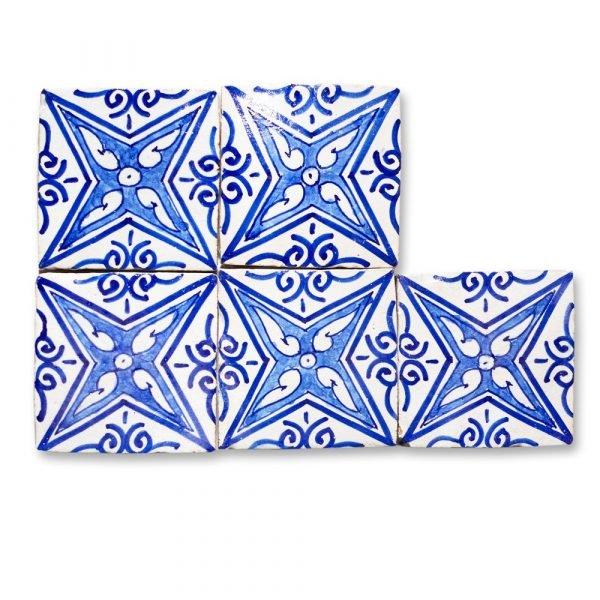 Andalusian Tile Mini - 10 cm - Various Designs - Model 10