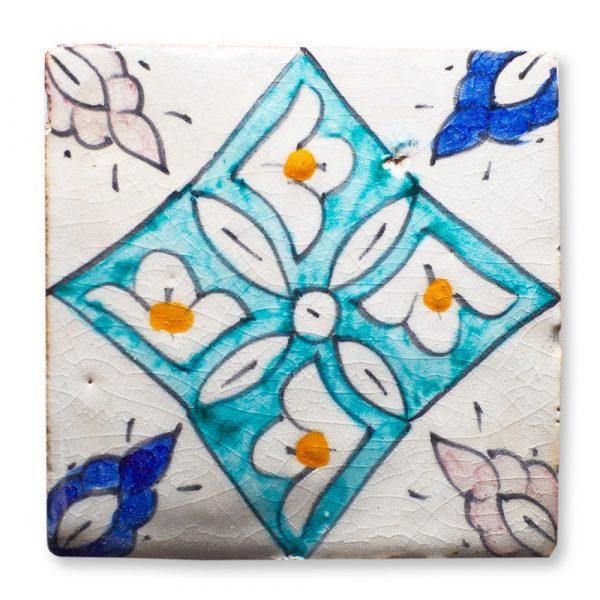 Andalusian Tile Mini - 10 cm - Various Designs - Model 12