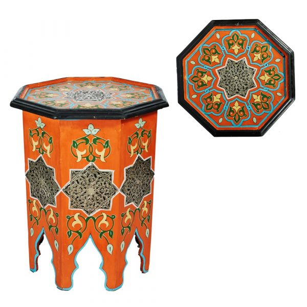 Octagon Nightstand-Andalus - Various Colors