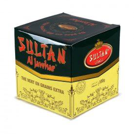 Green Tea - Sultan - Supreme Quality - Grain Extra - 100 gr