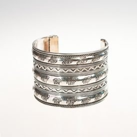 Silver Bracelet Width - Elephants - Recorded and Reliefs