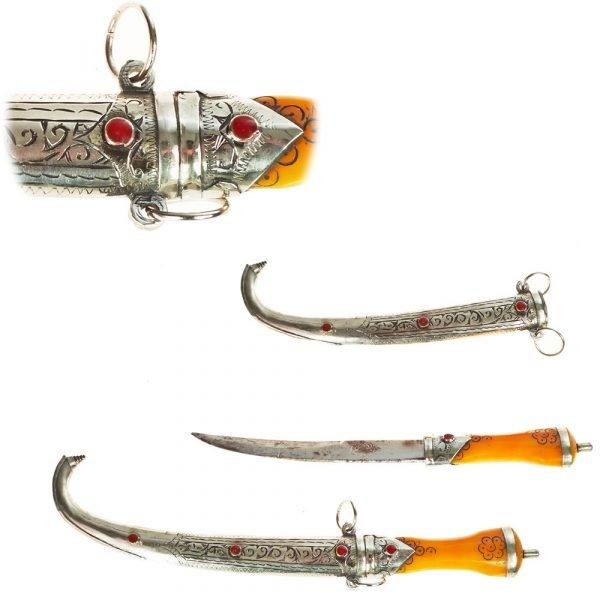 Alpaca dagger Funda - Mango Bone - Small