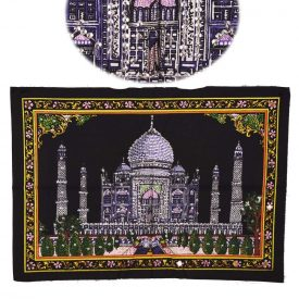 Cotton Fabric Taj Mahal India-Mosque-Crafts-55 x 40 cm