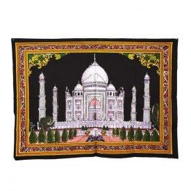 Cotton Fabric Taj Mahal India-Mosque-Crafts-100 x 75 cm.
