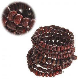 Spring Wood Bracelet - Multicolor