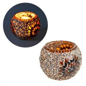 Turkish Candle - Murano Glass - Mosaic